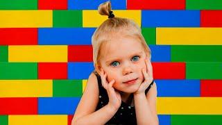 Vitalina in Lego City Pretend play! Magical dream!