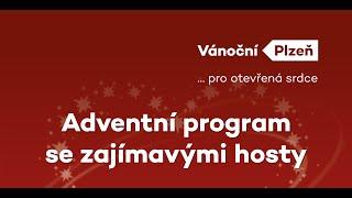 ŽIVĚ: Adventní program se zajímavými hosty