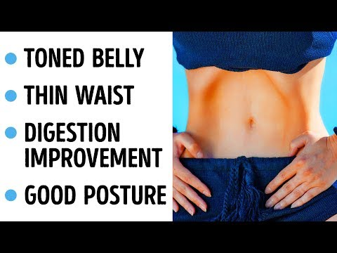 Do One Exercise 5 Mins A Day, See What Happens To Your Belly