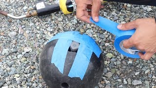 GoPro inside the Bowling Ball (Fail)
