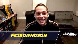 Pete Davidson on His Friendship with Adam Sandler