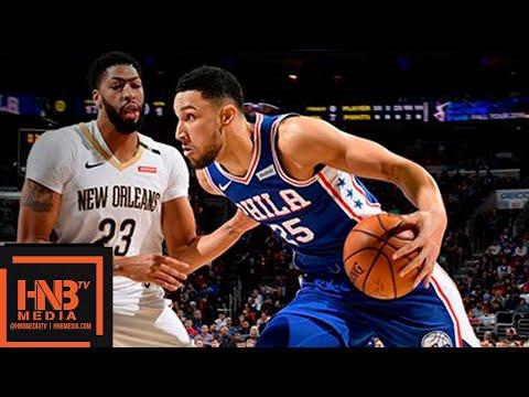 Philadelphia Sixers vs New Orleans Pelicans Full Game Highlights | 11.21.2018, NBA Season