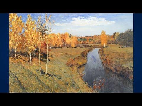 Левитан Исаак (1860-1900) Осень