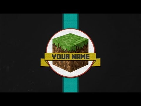 2 Free Minecraft Intro Template Movie Maker Youtube