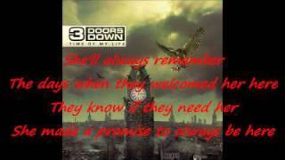 3 Doors Down - She is love / with lyrics