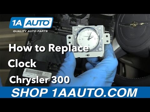 How to Replace Clock 05-10 Chrysler 300