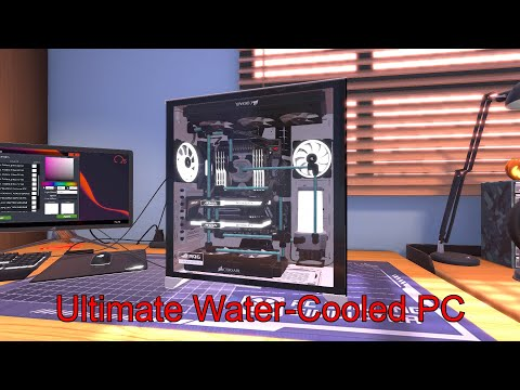 The ULTIMATE RGB PC in PC Building Simulator!!  