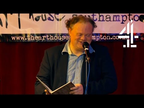 Impressing Your Date With A Romantic Poem At An Open Mic Night | The Undateables