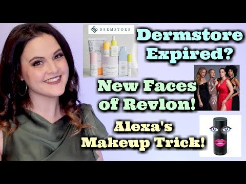 What's Up in Makeup NEWS! Dermstore vs Drunk Elephant? Revlon Celebrates Diversity! Alexa's Makeup!