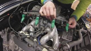Volvo 940 - Byta spridare och bygla spridarmotståndet