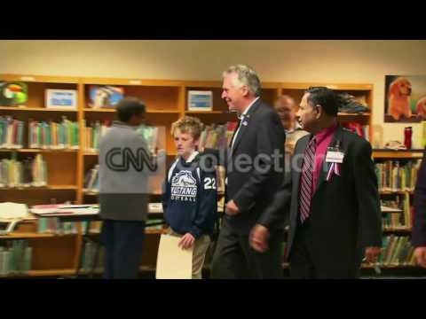 VA: ELECTION - TERRY MCAULIFFE VOTING
