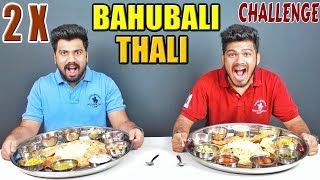 bahubali thali eating competition