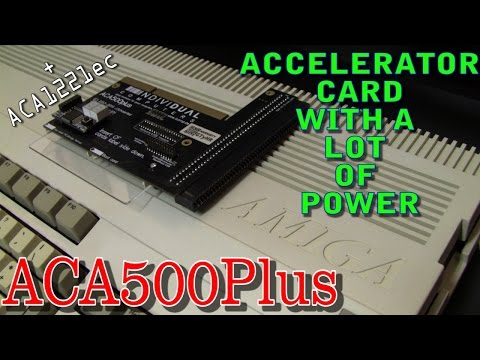 ACA500plus - an accelerator card for the Commodore Amiga 500/500+