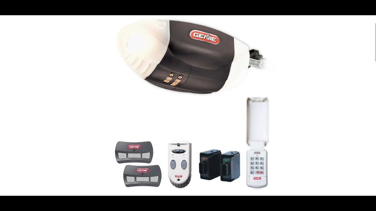 wifi garage door opener genieGenie Garage Door Opener Install 3  YouTube