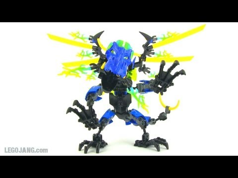LEGO Hero Factory Dragon Bolt review! Brain Attack wave 2 - YouTube