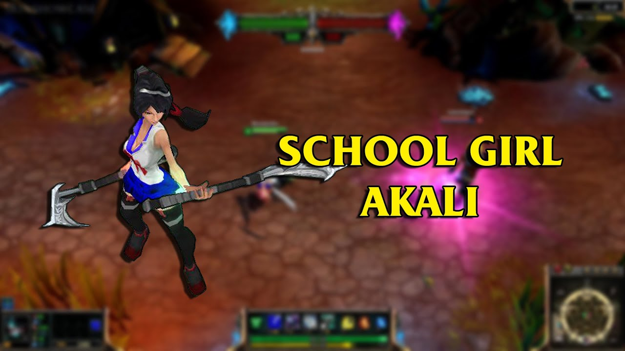 Akali Custom Skins