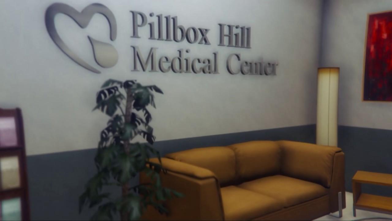 GTA V MLO Interior Pillbox Hill Medical Center (47 Rooms)