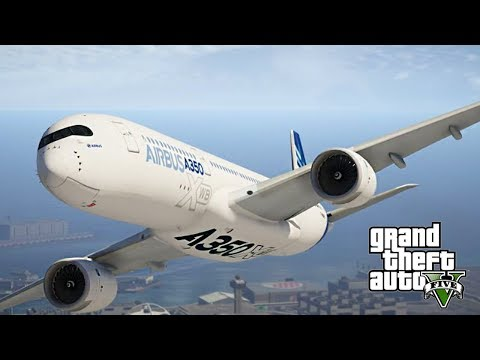 GTA 5 REAL LIFE PILOT MOD - REAL AIRPLANES!!!