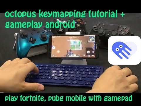 How To Play Fortnite Pubg Mobile With Controller With Octopus Key