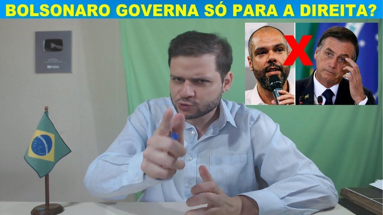 Jair Bolsonaro governa só para a direita? - Bruno Covas