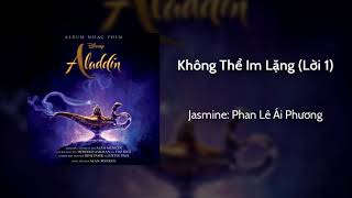 This is the official vietnamese soundtrack version of aladdin - speechless (part 1). it available on spotify, itunes and deezer. turn cc to have s+...