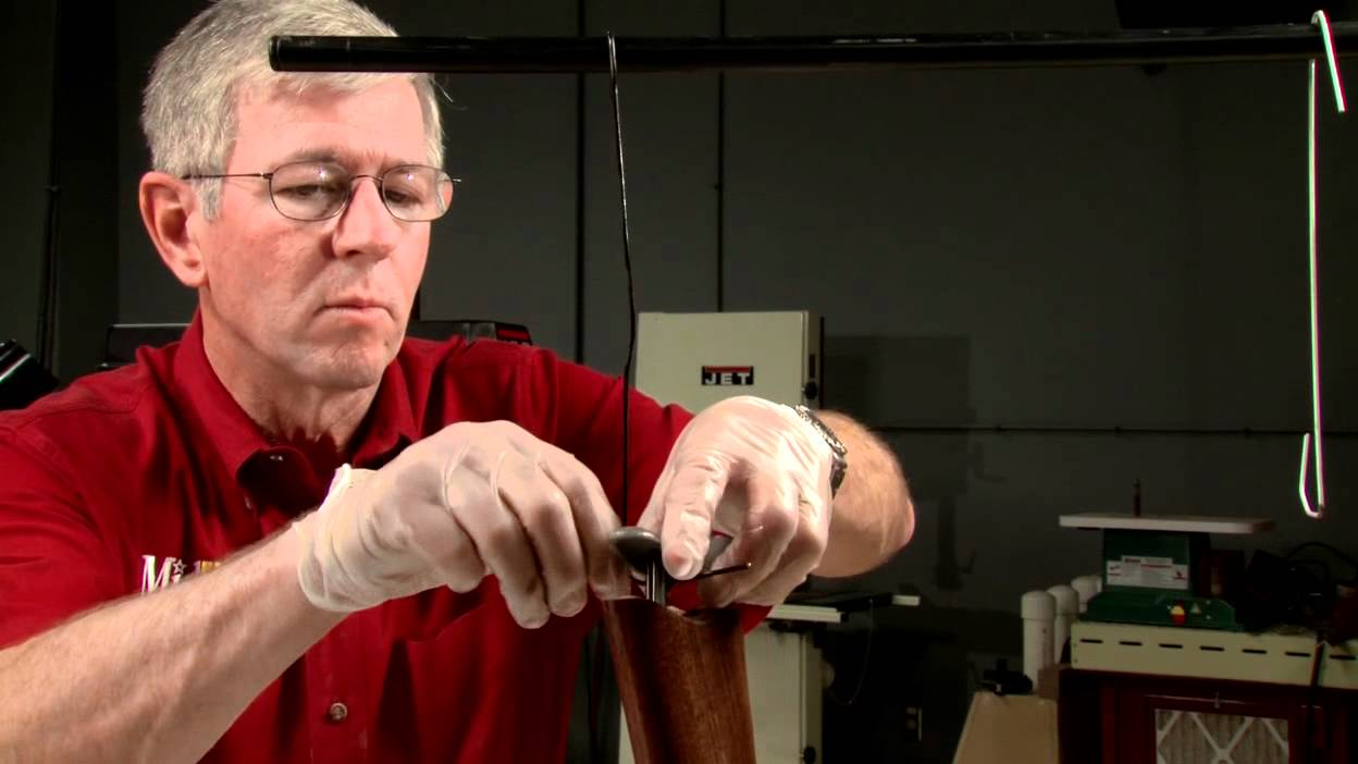 Gunsmithing  How to Seal Wood When Finishing a Gun Stock