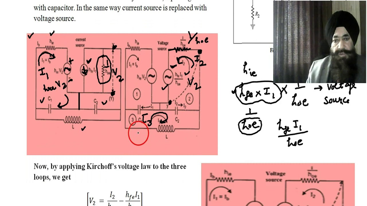 Colpitts Oscillator Frequency Derivation Youtube The Circuit Consists Of A