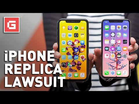 Apple Sues Over Perfect Replica of iPhone