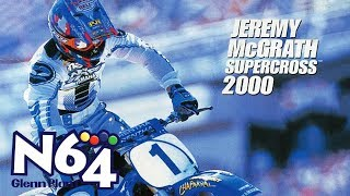 Jeremy McGrath Supercross 2000 - Nintendo 64 Review - Ultra HDMI - HD