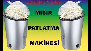 ARZUM CORNY MISIR PATLATMA MAKİNESİ KULLANICI DENEYİMİ.