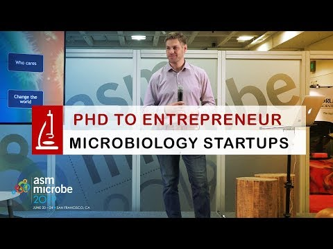 From PhD to Entrepreneur, Launching a Microbiology Startup