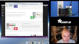 Raspberry Pi Quick Look at Visual Studio Code for Pi Python Coding w/ Tony D! @adafruit #LIVE