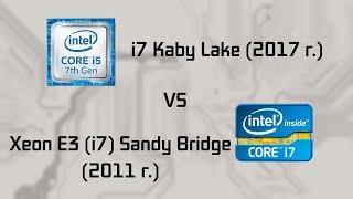 intel Sandy Bridge vs Kaby Lake