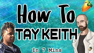From Scratch - A Tay Keith Song in 7 Minutes | FL Studio Hard Trap Tutorial 2018