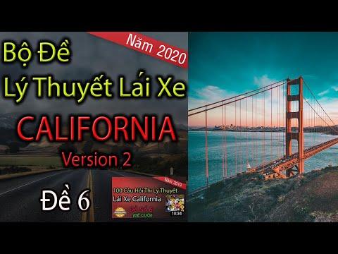 Câu Hỏi Thi Lý Thuyết Lái Xe California 2020 - Đề 6 | Thi Lý Thuyết Lái Xe Ở Mỹ | Lái Xe Ở Mỹ | TaFa