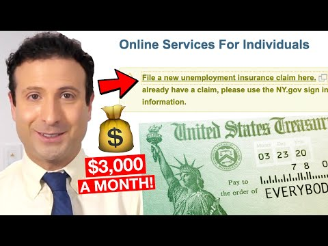How To Apply For Unemployment Benefits Online (2020 CARES ACT EXPLAINED!)