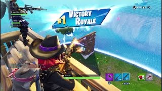 Getting the W in Fortnite