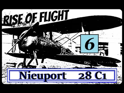 Rise of Flight - Iron Nieuport 28[P6] : Flying with Economy