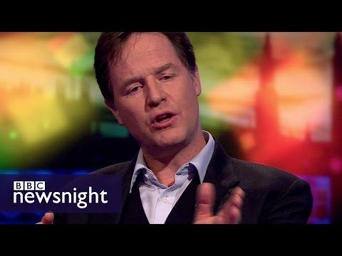 Nick Clegg: 'Brexit-obsessed government isn't doing its day job' - BBC Newsnight
