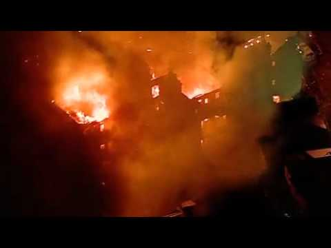 Furniture store owner traumatised by blaze