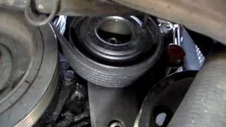 tendre une courroie d'alternateur sur peugeot 405 année 1992, turbo D