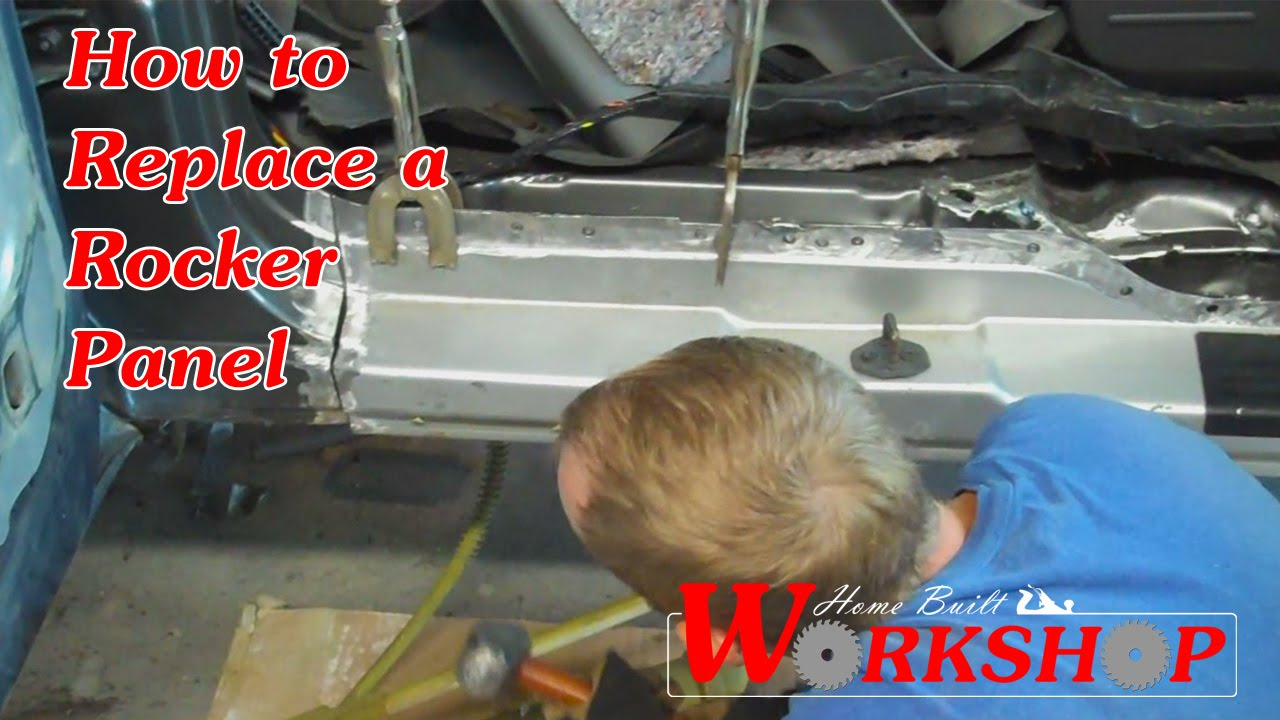 Replacing A Rocker Panel Youtube 1995 Ford Taurus Engine Diagram