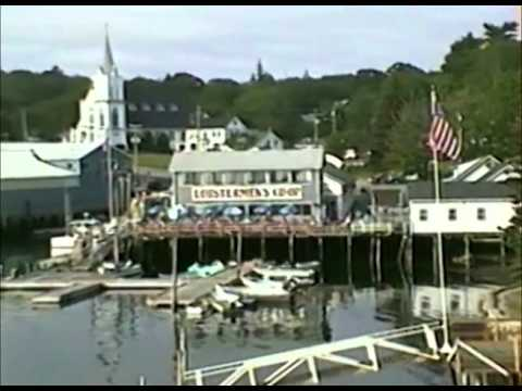 Maine Lobster at Boothbay Harbor, Maine