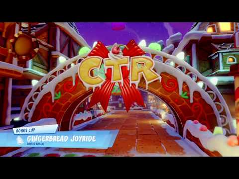 Crash Team Racing Nitro Fueled Gingerbread Joyride
