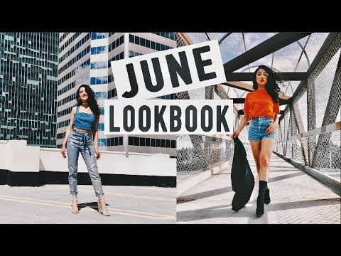 MY STYLE –  JUNE LOOKBOOK 2017 | Summer Outfits