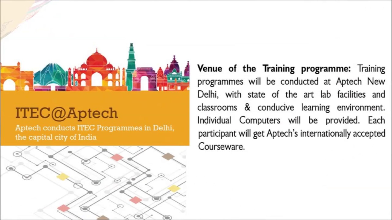 Government of India sponsored training programs | ITEC/SCAAP