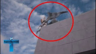 Top 10 Creepy Things Caught On Security Cameras  Unbelievable Mysterious CCTV Caught Videos