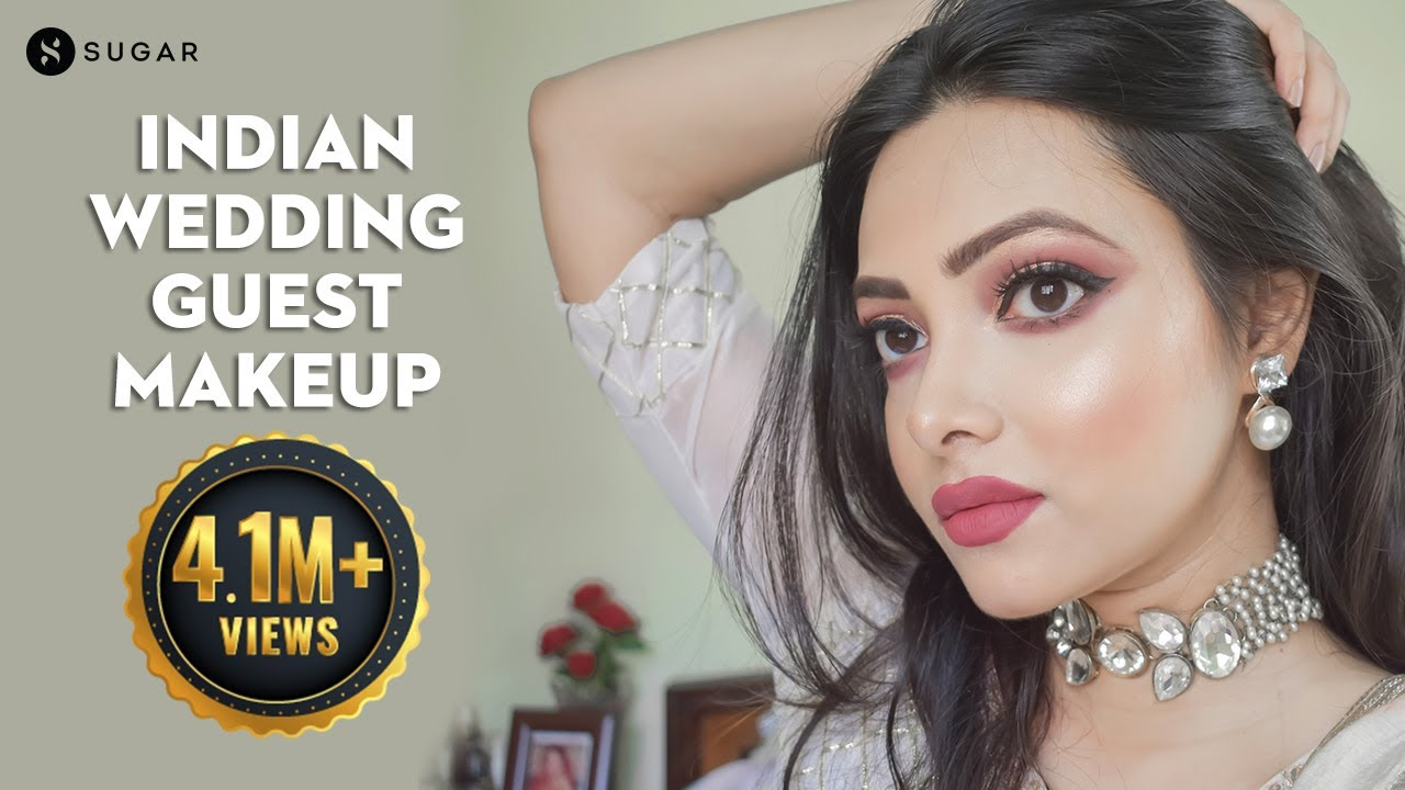 Indian Wedding Guest Makeup | Festive Makeup | How To Create A Traditional Look | SUGAR Cosmetics