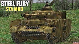 "Steel Fury Kharkov 1942 STA Mod ""Magnum Force"" Mission Pz.IV Panzer IV ausf. H Tank Simulator"