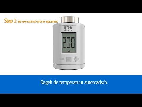 Eaton xComfort radiator thermostaatkraan (NL)